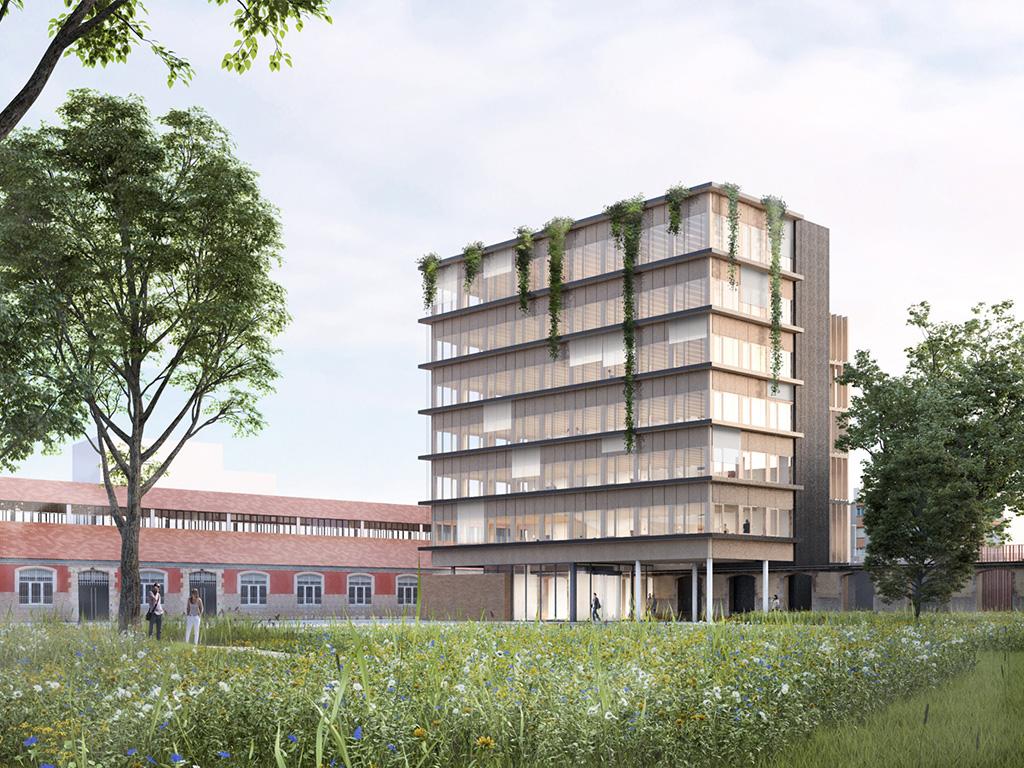 ECOPOLIS IMMEUBLE DE BUREAUX  Écoquartier Heudelet 26, Dijon