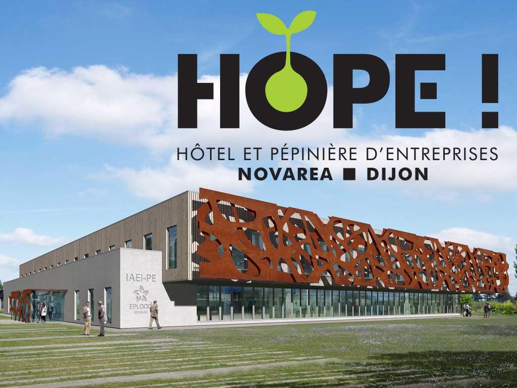 HOPE ! Hôtel et Pépinière d'entreprises DIJON