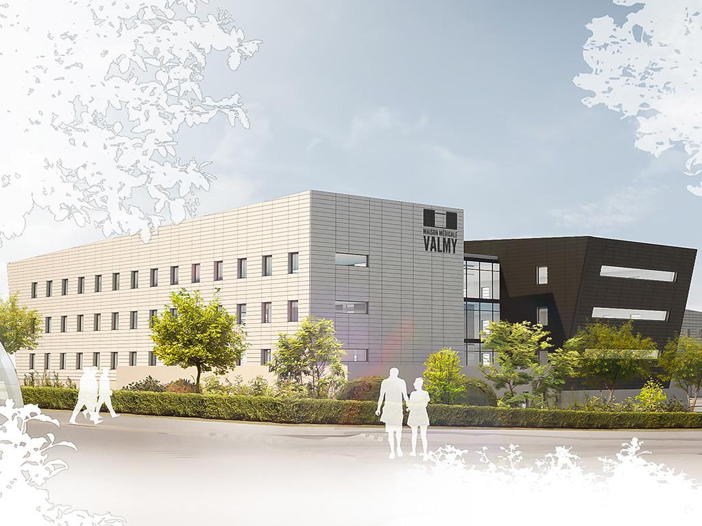 Maison Médicale Valmy - © AIA Associés - Jean de Nercy