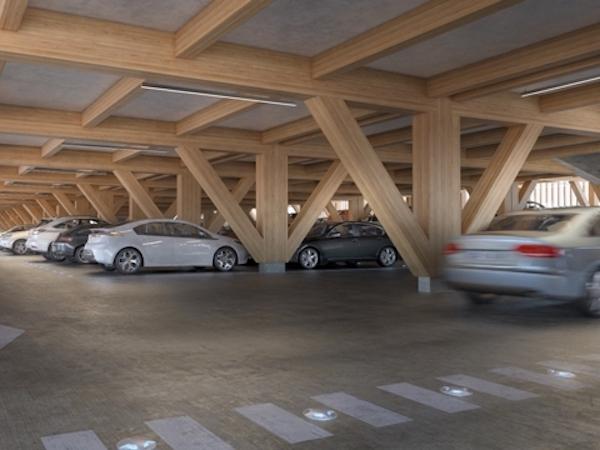 Parking Silo Valmy intérieur