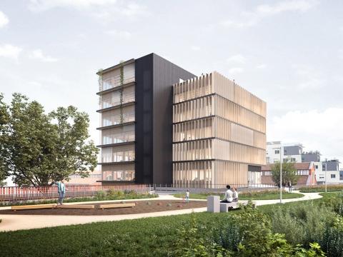 Écopolis, immeuble de bureaux