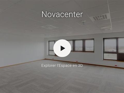 Visite virtuelle Novacenter