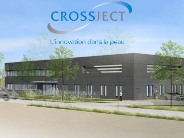 Laboratoires et bureaux CROSSJECT à DIJON